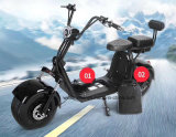 세륨 18*9.5 타이어 Citycoco 두 배 이동할 수 있는 건전지 Harley 전기 스쿠터 1500W Citycoco 스쿠터