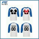 T-shirt dos homens impressos costume do fabricante do OEM de China