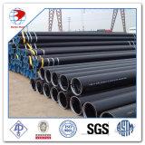 Tubulação de aço sem emenda de carbono de Sch 40