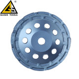 Double rangée de roue de la Coupe du broyage de béton de segment