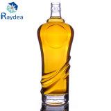 bottiglia di vetro rotonda 500ml con la protezione di prova del compressore