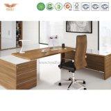 고품질 서랍을%s 가진 나무로 되는 사무실 테이블 또는 컴퓨터 책상 디자인