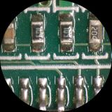 Long microscope C-2D DEL de distance de fonctionnement