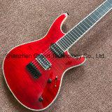 Kits de guitare de bricolage / Chaîne Mayones Regius 7 Rouge guitare électrique (GF-47)