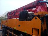 37m de nouvelle conception 4*2 pompe de la rampe en béton montés sur camion