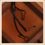 Peça de vestuário de plástico de Design Personalizado Hang Tag string de Vedação
