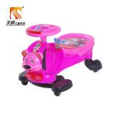 4 de heldere Auto van het Plasma van de Baby van de Auto van de Draai van de Jonge geitjes van Kleuren voor Kinderen om te berijden op