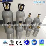 عال ضغطة أكسجين [ك2] غاز أرغون هليوم نيتروجين أسطوانة غاز ألومنيوم أسطوانة