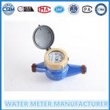 Medidor de água civil com o líquido do jato de Muti selado