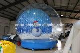 مركز تجاريّ يعلن [3م] [4م] [5م] [6م] ثلج اصطناعيّة قابل للنفخ ثلج كرة أرضيّة