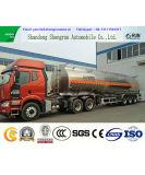 Aleación de aluminio de 50 cbm Petrolero de remolque del depósito de combustible