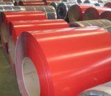 il materiale d'acciaio PPGI di 0.13-0.8mm ha preverniciato la bobina d'acciaio galvanizzata per tetto