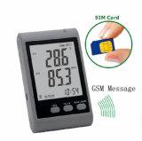Indicateur d'humidité de la température de l'alarme SMS GSM avec surveillance à distance