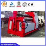 Machine de plaque du rouleau W12S-30X2000 4 de dépliement en acier et de roulement