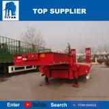 Titan-Fahrzeug-niedriger Bett-Schlussteil für den Transport der 75 Tonnen-und 45 Tonnen-Maschinen für Verkauf