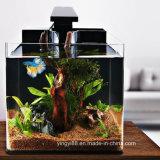 Großhandelsacrylaquarium-Fisch-Bildschirmanzeige-Becken