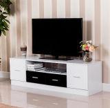 現代新しいデザイン引出しが付いている白いTVのキャビネット