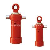 Cylindre hydraulique télescopique de camion à benne basculante pour des véhicules d'ingénieur