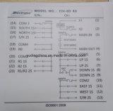 24 В 8-канальный пульт дистанционного управления аудиосистемой промышленности для строительного оборудования, СРВ крана, Sany крана, Cat крана Tadano кран, XCMG кран, улица крана, Като кран