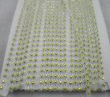 형식 모양 단 하나 줄 의복을%s 플라스틱 모조 다이아몬드 트리밍 사슬