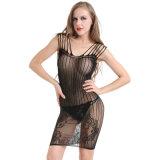 Оптовая высокая упругость плюс Fishnet Bodystocking BS8888 женское бельё размера сексуальный