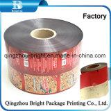 Hot-Sealed PET/PE rollos de película de plástico para la miel perfumadores