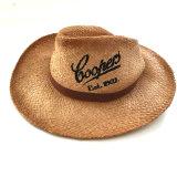 Chapéu da Raffia da palha do verão da forma