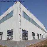 Costruzione d'acciaio prefabbricata dell'ampia luce/magazzino d'acciaio chiaro