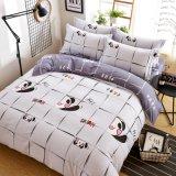 安い価格熱い販売の印刷されたポリエステル寝具の羽毛布団カバー
