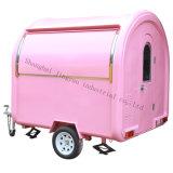 アイスクリームおよびコーヒー販売のトラックを販売する工場価格の三輪車の軽食