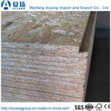 Grãos de madeira Papel de melamina enfrentados OSB Board