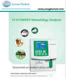 Analyseur automatique de hématologie de sang de Prediluted de sang entier de Diff du vétérinaire 3