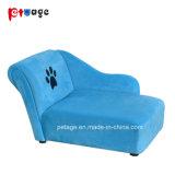 Alimentação para animais de estimação da estrutura de madeira sofá cama de cão de pelúcia
