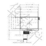 4.3 Monitor des Zoll-TFT Innolux LCD für medizinische Ausrüstung, Ka-TFT043it002