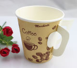 7oz Disposable Single Wall Paper Cup mit Handle Cheap Wholesale