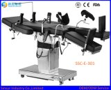 ISO/Ce 의료 기기 Fluoroscopic 병원 전기 유압 운영 테이블