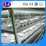 La fábrica regulable de alta calidad 3W 6W 9W 12W 15W 18W LED 24W luz del panel de techo redondo