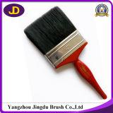 Escova de pintura de madeira da cerda do preto do punho da alta qualidade
