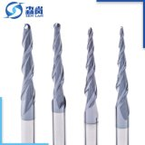 Industrial Milling에 있는 HRC55 Solid Carbide Cutting Tool Used