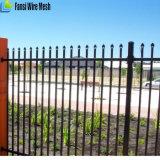 Cerca galvanizada decorativa econômica do ferro para a venda