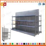 Shelving resistente personalizado Manufactured do supermercado de aço (Zhs220)