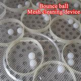 Schermo circolare rotativo di vibrazione della polvere delle coperture dell'uovo della noce di cocco che setaccia macchina