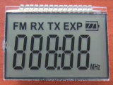 Écran LCD r3fléchissant de contact d'indicateur de Tn de compteurs d'électricité