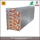 Condensateur refroidi par air de réfrigérateur d'ailette de tube