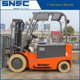 De Elektrische Vorkheftruck van de Kwaliteit van China 3.5t met ZijDraaier voor Verkoop