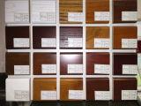 Gabinetes de cozinha vermelhos do frame da madeira contínua da cereja do estilo americano quente de Bck do Sell