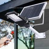 Nouvelle télécommande 24 LED LED solaire Rue lumière Mur de chemin de plein air lampe de secours Spot de sécurité