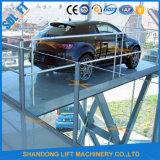 Alquiler de tijeras de la plataforma de elevación para la venta
