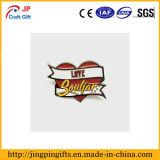 Custom высокого качества любви в форме сердечка Металлическая булавка для подарков