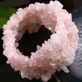 OEM-дизайн классических розовый кварц браслет